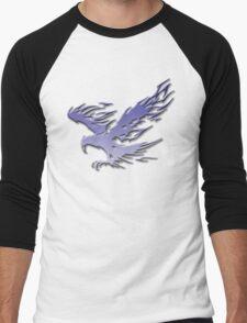Tribal Eagle blue version Men's Baseball ¾ T-Shirt