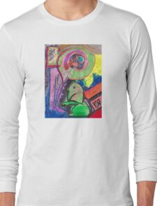 """Little Dragon"" by Richard F. Yates Long Sleeve T-Shirt"