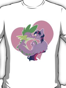Twilight and Spike Smooch T-Shirt