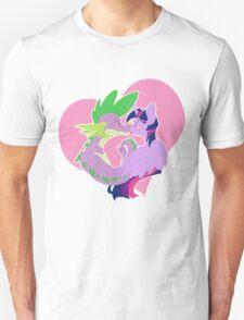 Twilight and Spike Smooch Unisex T-Shirt
