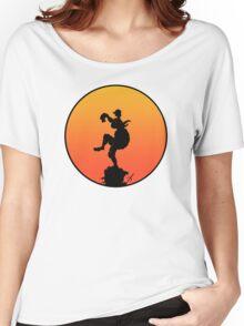 Crane Kick Women's Relaxed Fit T-Shirt