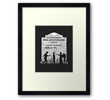 Goodbye Raggedy Man Framed Print