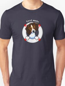 Tricolor Beagle First Mate T-Shirt