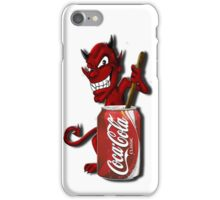 Coke Is The Devil iPhone Case/Skin