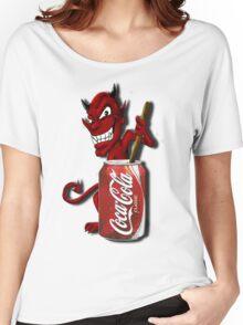 Coke Is The Devil Women's Relaxed Fit T-Shirt
