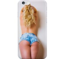 hot blonde  iPhone Case/Skin