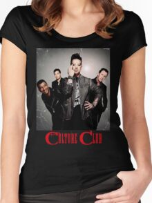 Boy George & Culture Club 03 Women's Fitted Scoop T-Shirt