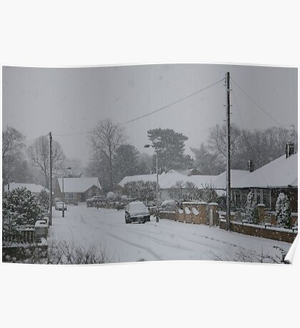 winter snow Poster