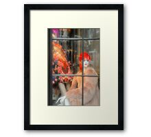 Windows of 5th Ave NYC Framed Print