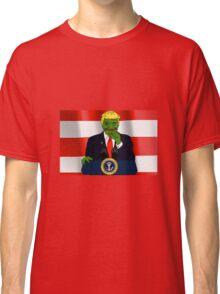 President Donald 'Pepe' Trump the Smug Frog Classic T-Shirt
