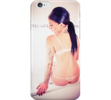 inked model  iPhone Case/Skin