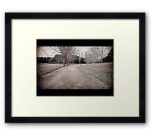 CAMPAIGN Framed Print