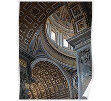 Basilica Sancti Petri ~ Vatican Poster