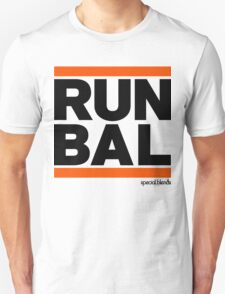 Run Baltimore BAL (v1) Unisex T-Shirt