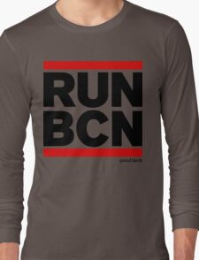 Run Barcelona BCN (v1) Long Sleeve T-Shirt