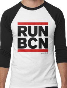 Run Barcelona BCN (v1) Men's Baseball ¾ T-Shirt