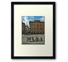 Playing to paint Firenze Framed Print