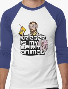 Krieger is my Spirit Animal Men's Baseball ¾ T-Shirt
