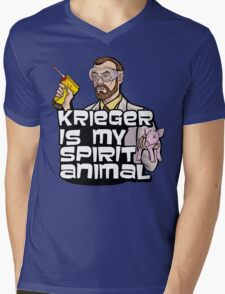 Krieger is my Spirit Animal Mens V-Neck T-Shirt
