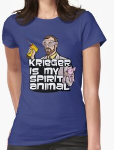 Krieger is my Spirit Animal Womens Fitted T-Shirt