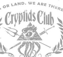 Cryptids Club Instructor Sticker