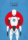 No275 My I ROBOT minimal movie poster by Chungkong