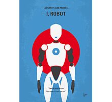 No275 My I ROBOT minimal movie poster Photographic Print