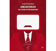 No278 My Anchorman Ron Burgundy minimal movie poster Photographic Print