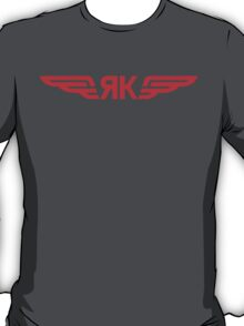 Yakovlev Aircraft Logo    Red T-Shirt