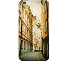 Gamla Stan Street Cell Case iPhone Case/Skin
