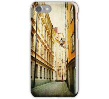 Gamla Stan Street Cell Case iPhone Case/Skin