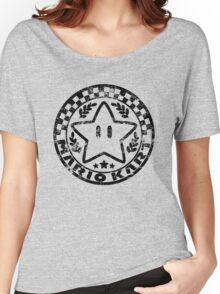 Mario Kart Emblem Women's Relaxed Fit T-Shirt