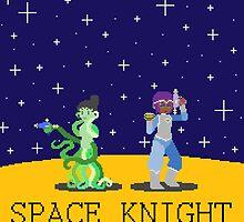 SPACE KNIGHT by kitsuri