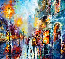 MELODY OF PASSION  by Leonid  Afremov