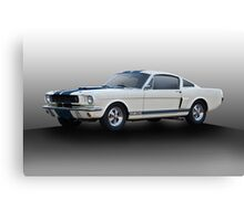 1966 Shelby Mustang G.T.350 I Canvas Print