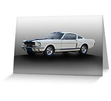 1966 Shelby Mustang G.T.350 I Greeting Card