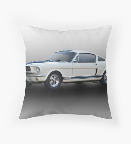 1966 Shelby Mustang G.T.350 I Throw Pillow