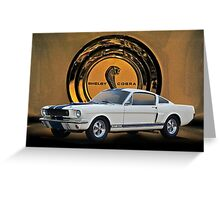 1966 Shelby Mustang G.T.350 II Greeting Card