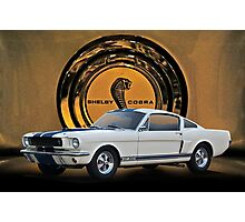1966 Shelby Mustang G.T.350 II Photographic Print