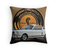 1966 Shelby Mustang G.T.350 II Throw Pillow