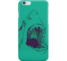 Shark (green) iPhone Case/Skin