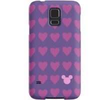 Hidden Mickey- Pink & Purple Samsung Galaxy Case/Skin