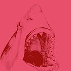 Shark (pink) by Mason O'Halloran