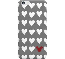 Hidden Mickey- Ohio State iPhone Case/Skin