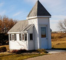Blue Mound Wayside Chapel by Mary Carol Story