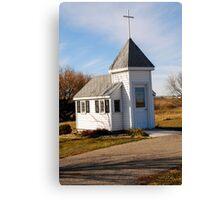 Blue Mound Wayside Chapel Canvas Print