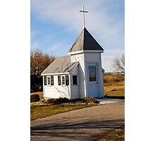 Blue Mound Wayside Chapel Photographic Print