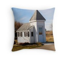 Blue Mound Wayside Chapel Throw Pillow