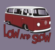 "VW Bay Camper Van ""Low and Slow"" by velocitygallery"