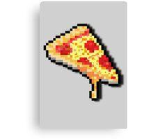 Pixel Pizza. Canvas Print